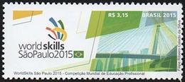 BRAZIL 2015 WorldSkills São Paulo World´s Professional Education Competition - Unused Stamps