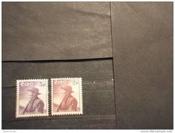 IRLANDA - 1957 O´CROHAN 2 Valori  -NUOVI(++) - 1949-... Repubblica D'Irlanda