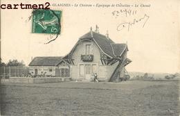 GLAIGNES CHATEAU EQUIPAGE DE CHEZELLES CHENIL CHIENS 60 - Sin Clasificación