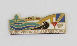 Pin's AUTOROUTE DDE 57 - SUBDIVISION DE SARREBOURG - Administrations