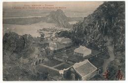 CPA - INDOCHINE / ANNAM - Tourane - L'Entrée De La Grotte Et Les Montagnes De Marbre - Vietnam