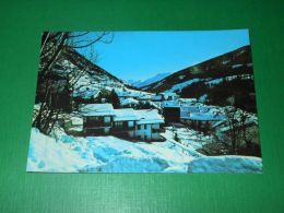 Cartolina Etroubles ( Valle Del Gran S. Bernardo ) - Panorama Invernale 1980 Ca - Unclassified
