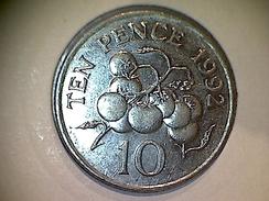 Guernsey 10 Pence 1992 - Guernsey