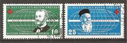 = DDR 1957 O = - Gebraucht