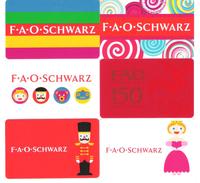USA - 6 Cards - F A O Schwarz - Carte Cadeau - Carta Regalo - Gift Card - Geschenkkarte - Gift Cards