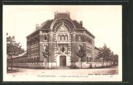 CPA Valenciennes, Lycée De Jeunes Filles - Valenciennes