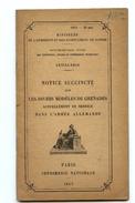 Rare Manuel Français Sur Les Grenades Allemandes 1917  14-18 - 1914-18