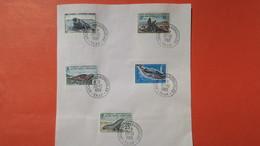 """TAAF  Lot De 5 Timbre  """" Archipel Des Kerguelen """"  En Date Du 30/12/1968 Oblitéré - Used Stamps"""