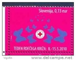 SI 2010-ZZ60 RED CROSS, SLOVENIA, 1 X 1v, MNH - Slovénie