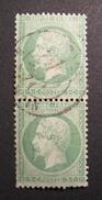 LOT R1631/827 - NAPOLEON III (PAIRE) N°20 - CàD PARIS 14 JUIN 1871 - 1862 Napoleon III