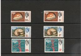 FIDJI  Années 1968/69  Série Courante N° Y/T : 221-229-231-240-249-251** - Fidji (1970-...)