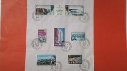 """TAAF  Lot De 7 Timbre  """" Archipel Des Kerguelen """"  En Date Du 30/12/1968 Oblitéré - Used Stamps"""