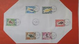 """TAAF  Lot De 6 Timbre  """" Archipel Des Kerguelen """"  En Date Du 10/02/1973  Oblitéré - Used Stamps"""