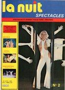 La Nuit Spectacles Et Bonnes Tables Paris-Province N°2 Miss Nue 80 - Victoria La Fille De La Nuit - Holyday On Ice 1980 - Libros, Revistas, Cómics