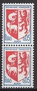 FRANCE 1966 - PAIRE TP  Y.T. N° 1468 - NEUFS** K227 - Unused Stamps