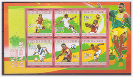 0530 Comores 2010 Voetbal Soccer Africa Cup S/S MNH - Afrika Cup