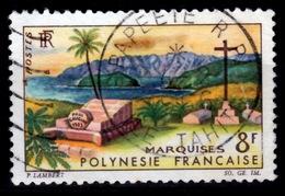 French Polynesia, Marquesas Islands, 1964, VFU - French Polynesia