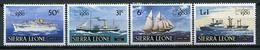 Sierra Leone 1980 Sierra Leona / Ships MNH Barcos Bateaux Versand / Cu3733  40 - Barcos
