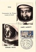 CM 51 - FRANCE N° 1451 Sur Carte Maximum Télécommunications - 1960-69