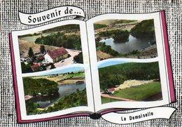 CPSM Dentelée - Environs De REMIREMONT (88) - Carte Multi-Vues De L'Hôtel-Rest.de La Demoiselle Et Du Camping En 1963 - Remiremont
