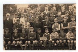 Boechout Klasfoto 6° Jaar 1937 (x = Louis Lambrechts) - Boechout
