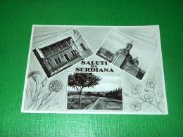 Cartolina Saluti Da Serdiana - Vedute Diverse 1960 Ca - Cagliari