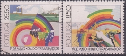 PORTUGAL 1981 Nº 1507/08  USADO - 1910-... République
