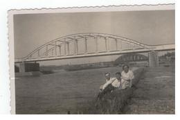 Herentals? Albertkanaal Foto Huis Van Dyck Herenthals (10,5x6,5cm) Jaren 30 - Herentals