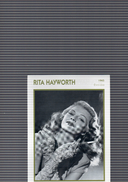 670A  HAYWORTH  DETAIL  VERSO - Entertainers