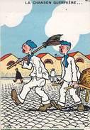 """CHROMO - """"La Chanson Guerrrière"""" - Publicité Magasin L.RATTI CHERBOURG - Cromos"""