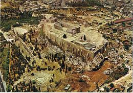 24539. Postal ATENAS (grecia) Vista Aerea De La Acropolis. Arqueologia - Grecia