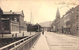 Pepinster - Place Des Ecoles (animée, Précurseur) - Pepinster