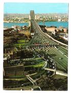 OLD OBSERVATORY AND HARBOUR BRIDGE SYDNEY - N.S.W.  - VIAGGIATA 1968 - (825) - Sydney
