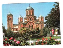 BEOGRAD - CRKVA SV. MARKA  - VIAGGIATA 1968 - (826) - Serbia
