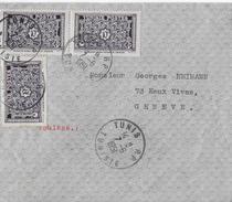 Letter Of TUNIS To Switzerland → TUNISIE POSTES 1951 - Tunisie (1956-...)
