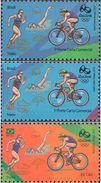 BRAZIL 2015 Olimpic Sport Games Rio 2016 Triathlon Bicycle Ciclism Swimming Running - Brazil