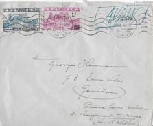 Letter Of TUNISIE To Switzerland → TUNISIE POSTES 1941  ►RRR◄ - Tunisie (1956-...)