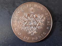 """JETON MAÇONNIQUE """"LOGE ÉCOSSAISE  LE MONT SINAÏ"""" - (O.DE PARIS) - Freemasonry"""
