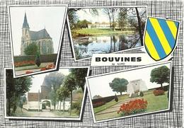 CPSM Bouvines Vues Multiples Blason - Francia