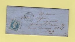Noailles De L Oise - 58 - Oise - Pc 2271 - 31 Janv 1862 - 1849-1876: Classic Period