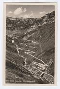 Old Postcard VALLE TREMOLA GOTTHARDSTRASSE Mountain Road, Switzerland - Unclassified