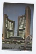 Old Postcard THE NEW CITY HALL ILLUMINATED Toronto Canada - Toronto