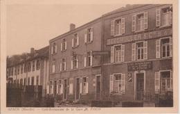 57 - APACH - CAFE RESTAURANT DE LA GARE - FISCH - Sonstige Gemeinden