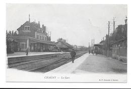 (71) CHAGNY - LA GARE - Chagny