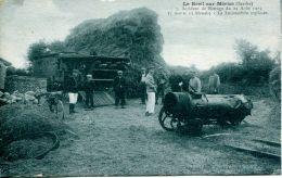 N°11 P -cpa Le Breil Sur Mérize -accident De Battage 1923 - Agriculture