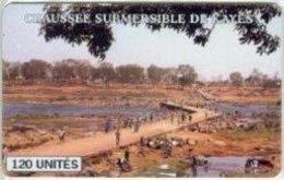 MALI : 37  120U   CHAUSSEE SUBMERSIBLE DE KAYES ASKIA THUMB   USED DUMPING - Mali