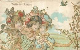 HEUREUSE ANNEE STYLE ART NOUVEAU - Illustrateurs & Photographes
