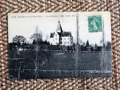 C.P.A. 71 CHENAY LE CHATEL : Le Chateau, Côté Nord - Otros Municipios