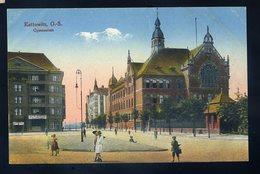 Cpa De Pologne Kattowitz , O.-S. Gymnasium   NCL82 - Polen