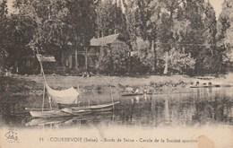 CPA Dép. 92. COURBEVOIE. (Seine). - Bords De Seine - Cercle De La Société Sportive. N° 14 - Courbevoie